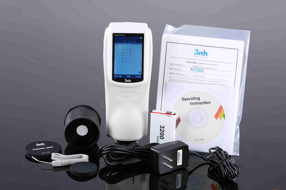 Ns800 Spectrophotometer With 45 0 3nh