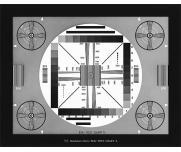 DNP综合分辨率测试卡JEITA图像解析卡Ⅱ透射式反射式图像测试卡图