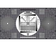ESSER爱莎图像分辨率解析卡TE167通用测试卡HDTV摄像机评估灰度卡