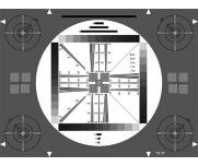 ESSER爱莎测试卡HDTV高清分辨率测试卡TE097反射式透射式检测图卡