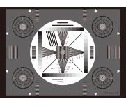 SineImage综合测试卡YE05电视摄像机视觉评估分辨率测试卡解析卡