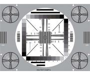 图像分辨率测试卡TE095电子摄像机普通视觉评估手机镜头解析度卡
