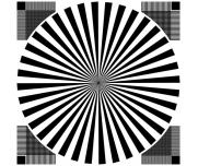ESSER爱莎分辨率测试卡带网格西门子之星YE0133/TE133手机镜头卡