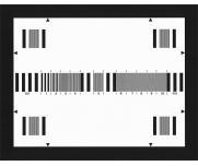 DNP高阶测试卡TCH-1评估成像装置水平分辨率图0.5MHz到10MHz频率