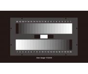 灰度测试卡20阶测试噪声/动态范围