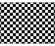 ESSER爱莎棋盘式畸变测试卡检查摄像机几何失真及分辨率式