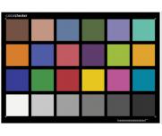 ColorChecker三原色加减相机镜头24色彩还原卡