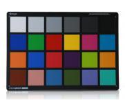 爱色丽24色测试卡检测相机图像色彩校正