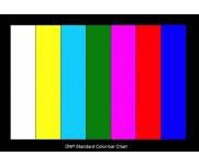 DNP彩条测试卡TV电视摄像机色彩还原图像检测