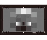 动态范围测试卡高频噪点成像SNR检测卡图