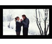 DNP雪中恋人测试卡黑白对比明暗度测试卡