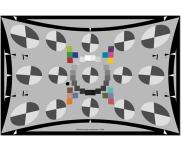 SFRreg广角测试卡超大屏摄像头视角鱼眼测试卡