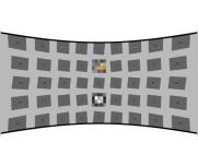 鱼眼测试卡SFRplus正常畸变85-120°FoV广角chart